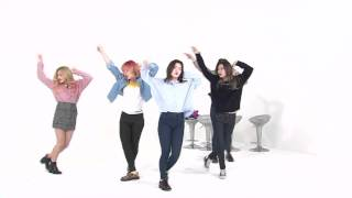 160316 RED VELVET [Weekly Idol] Dumb Dumb 2x fast dance play - No cut, 1 angle