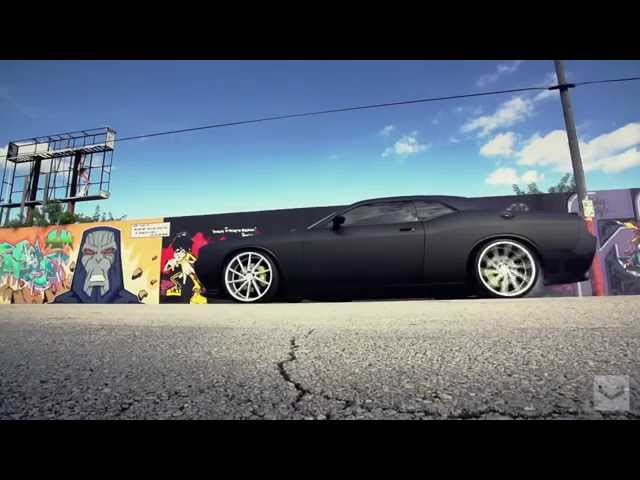Dodge Challenger SRT on Vossen 22'' CVT Wheels