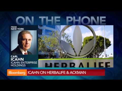 Icahn: Ackman Is 'Completely Wrong' on Herbalife