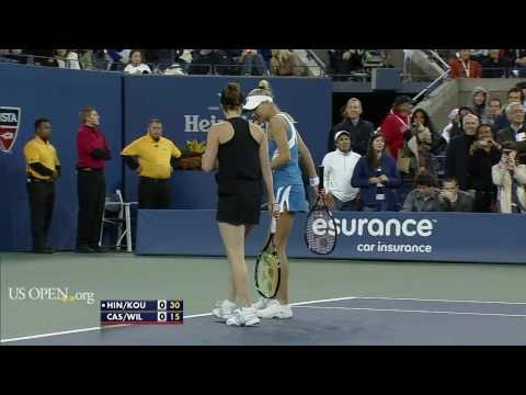 Kournikova/Hingis vs Cash/Wilander [part1]
