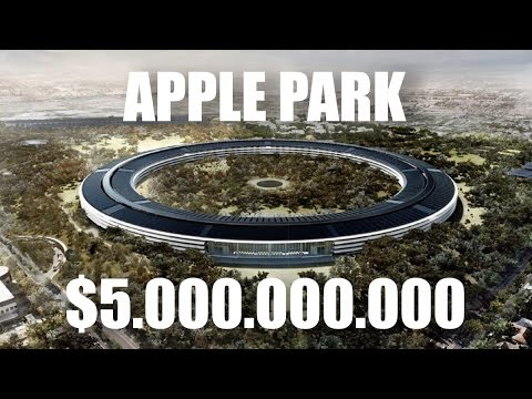 Apple Park - здание за $5.000.000.000