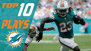 Dolphins Top 10 Plays of the 2016 Season   NFL Highlights