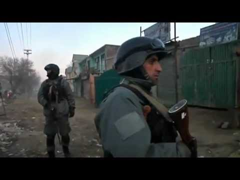 Kabul Trafic HQ Attack by Paki-Punjabi ISI in the Name of Taliban