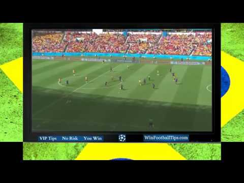 Football WC 2014  Australia 2 3 Netherlands Group B Goals Highlights