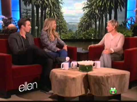 Julianne hough and Kenny Wormald on ELLEN\