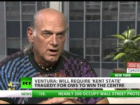 Jesse Ventura: We want to bring democracy to world &amp; don't have it in US