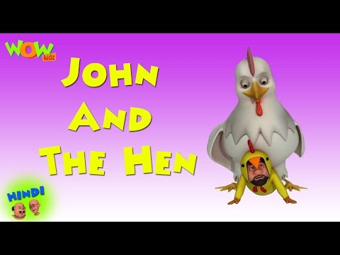 John And The Hen - Motu Patlu in Hindi WITH ENGLISH, SPANISH & FRENCH SUBTITLES thumbnail