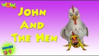 John And The Hen - Motu Patlu in Hindi WITH ENGLISH, SPANISH & FRENCH SUBTITLES