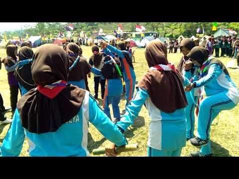 Game terseru Pramuka Campakamulya Cianjur Jawa Barat