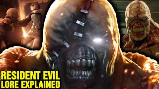 RESIDENT EVIL: LORE FOR 1 HOUR - WHO IS MR X TYRANT? WHO IS HUNK? WILLIAM BIRKIN - NEMESIS EXPLAINED