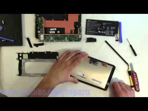 Asus MemoPad ME172V Take Apart and Reassembly (Nothing Left)
