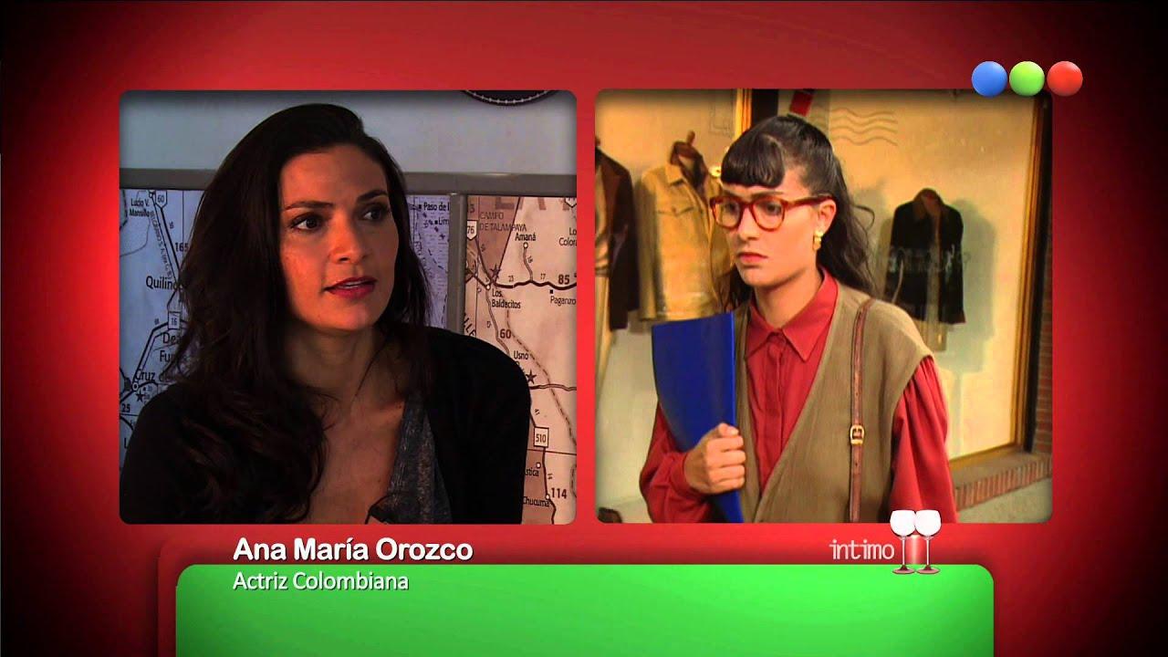 Ana Maria Orozco Julian Arango íntimo a Ana María Orozco