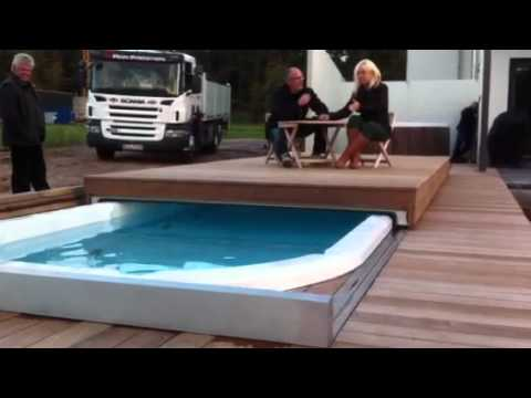 Swim Spa elektrische Abdeckung Thermo Cover Slide TCS ...