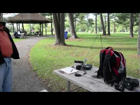 OARC Portable station demonstration 2012