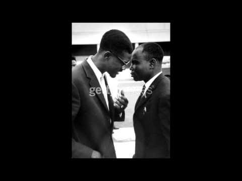 Lumumba parle de l unité Centrale de la république Démocratique du Congo