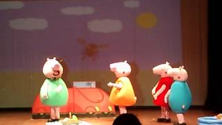 Peppa pig no teatro do Ciee IV