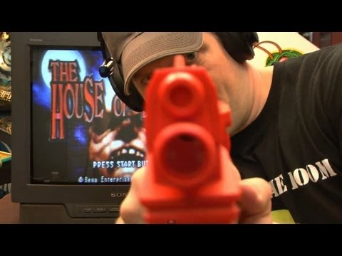 Classic Game Room - THE HOUSE OF THE DEAD review for Sega Saturn