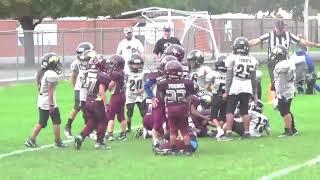 Buffs 2017 1st/2nd Grade Football vs Lone Peak Sube 39-16