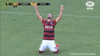Melhores Momentos HD Libertadores 2018 COMPLETO - Flamengo 2 x 0 Emelec