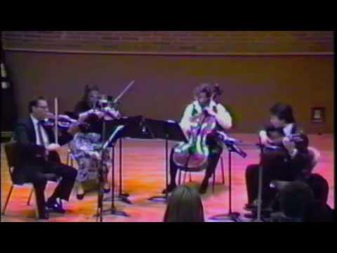 Robert Wetzel&Grossmont String Trio - Niccolo Paganini - Quartet No. 1 - II. Minuet Trio