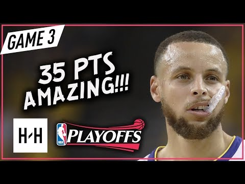 Stephen Curry EPIC Full Game 3 Highlights Rockets vs Warriors 2018 NBA Playoffs WCF - 35 Pts!