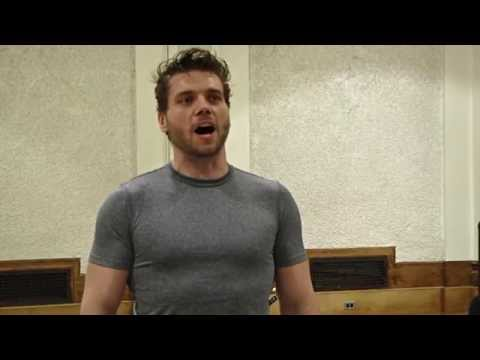 Encores! Paint Your Wagon in Rehearsal