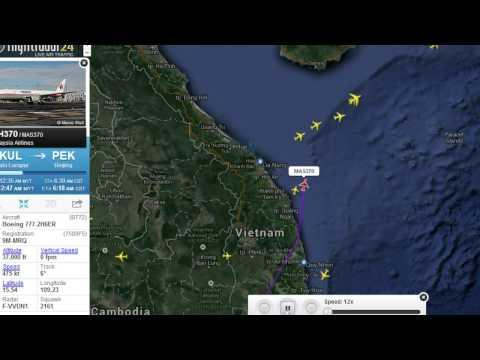 [Flight Radar MH370] Busted! Flight Radar Caught Changing Flight Path of Malaysia Flight 370!