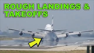 Rough Plane Landings and Takeoffs getting you through the week