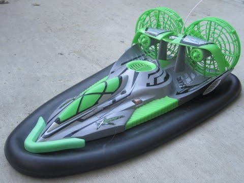 Fast Lane RC X-Craft Hovercraft on Land and Water