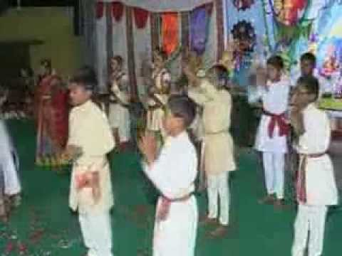 Yuga Ugadi Kaledaru Kannada Dance Cpm School Dance 2014 video