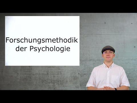 Aufnahmetest Psychologie - Lernvideos: Forschungsmethodik der Psychologie