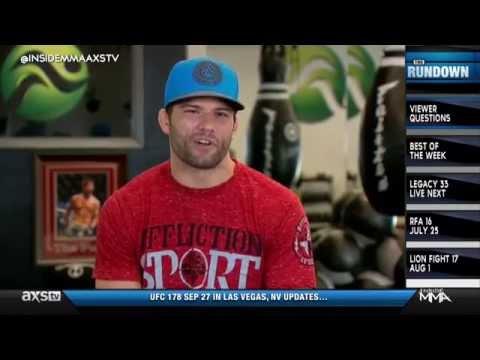 Josh Thomson Predicts Pettis vs Melendez on Inside MMA