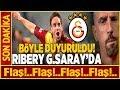 Ribery Galatasaray'da! Fransızlar Transferi Böyle Duyurdu... Youtube
