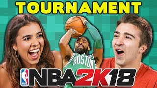 NBA 2K18 BASKETBALL TOURNAMENT (React: Gaming)