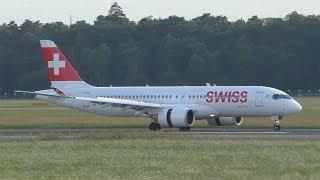 Swiss CS300 landing at Graz Airport | HB-JCD