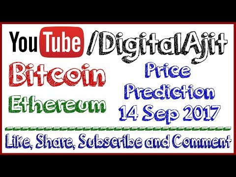 latest Bitcoin Price Update 14 september 2017 Ethereum price prediction