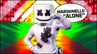 Fortnite Marshmello Alone With Creative Music Blocks