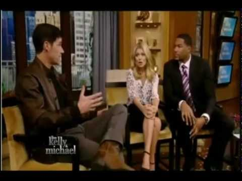 Matthew Fox on Live with Kelly and Michael part 1