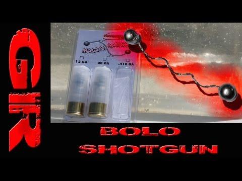 Gel Test - 12 Gauge Bolo Shotgun Shell