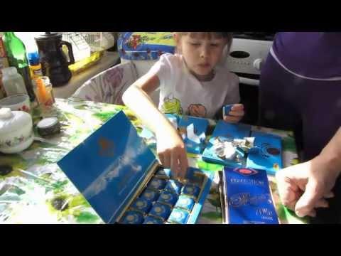 Казахстанский шоколад - посылка от подписчика