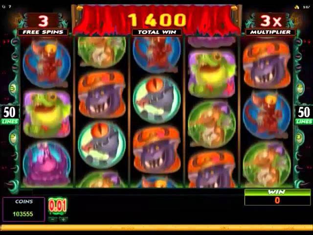 Monsters in the Closet Slot 13400 Big Win