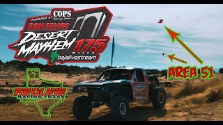 Spec Trophy Truck Chased by Racing Drones at Mayhem 175!