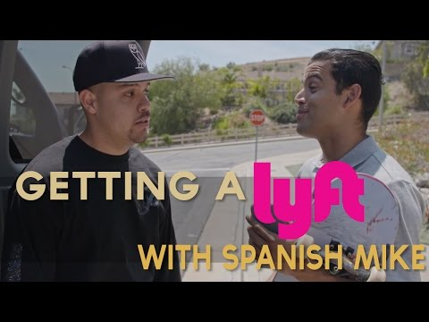 Paul Rodriguez l Getting a Lyft with Spanish Mike