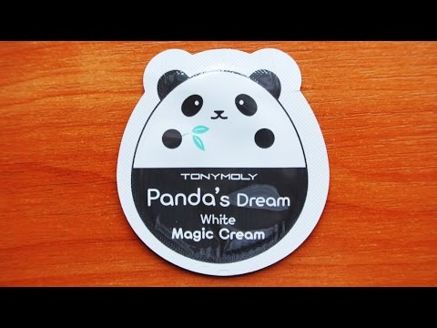 Обзор Tonymoly Panda`s Dream White Magic Cream пробник корейской косметики