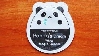 Видео - Обзор Tonymoly Panda`s Dream White Magic Cream пробник корейской косметики