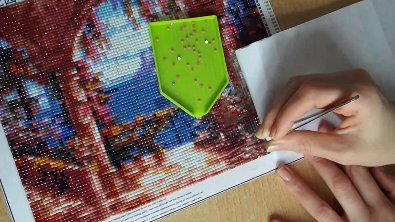 Как сделать алмазную вышивку самому в домашних условиях 31
