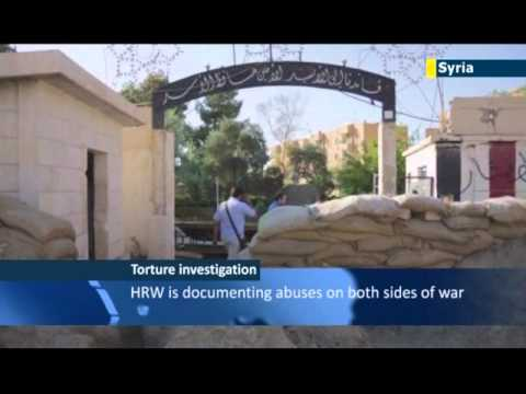 Assad Regime Torture Chambers: Human Rights Watch reports evidence of torture in Syria