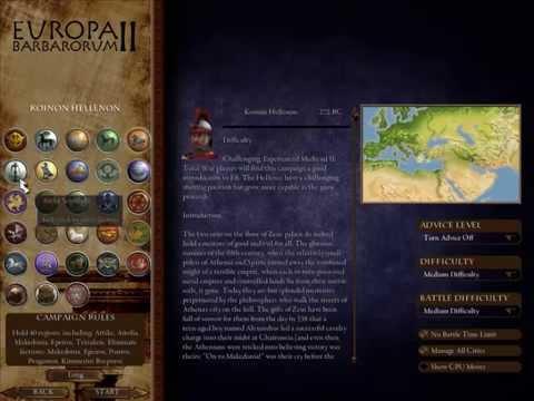 Europa Barbarorum 2: Factions