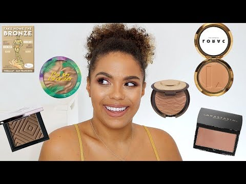 Best Bronzers for NC42/Tan/Deep Skin!