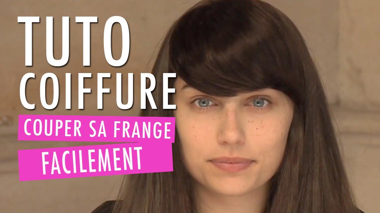 Comment couper sa frange facilement 10 fa ons tuto coiffure youtube - Comment couper une frange longue ...